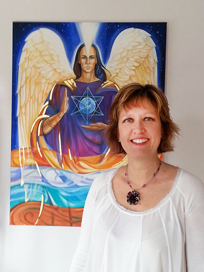Amanda Ellis Colour Therapy Metatron Angels Healing Colour